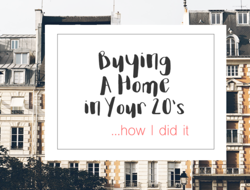 buying a home with low salary