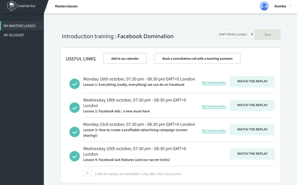 facebook domination advertising with live mentor