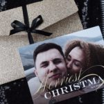 personalised christmas cards basic invite